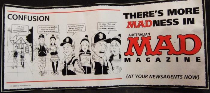 Promotional Bus Sticker MAD Internal 3 • Australia