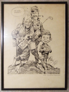 Go to Print Jack Davis 'Any good buddies' • USA