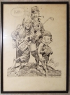 Image of Print Jack Davis 'Any good buddies'