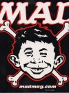 Thumbnail of Bones Sticker Alfred E. Neuman