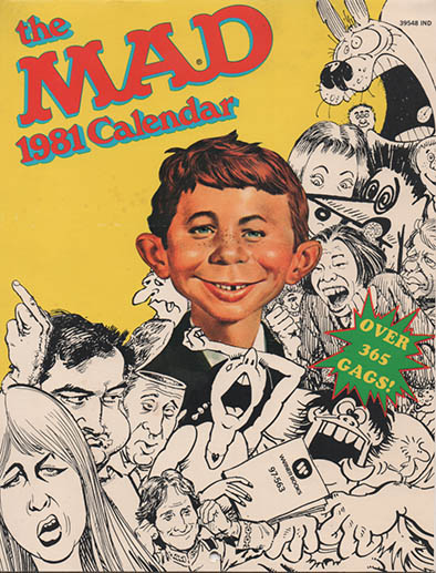 Calendar 1981 MAD Magazine • USA