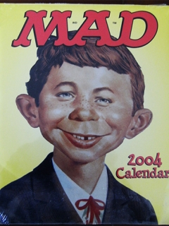 Go to 2004 Calendar MAD Magazine