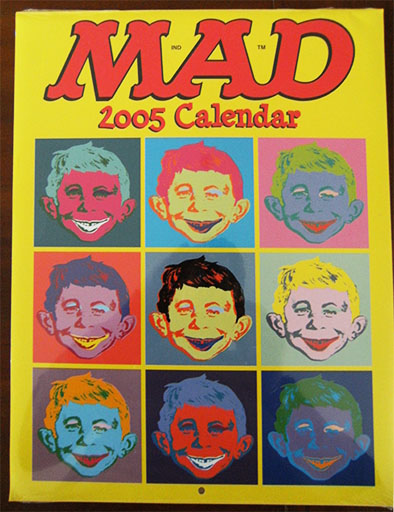 Calendar 2005 MAD Magazine • USA