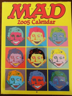 Go to 2005 Calendar MAD Magazine
