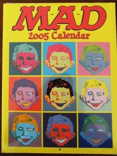 Go to Calendar 2005 MAD Magazine • USA