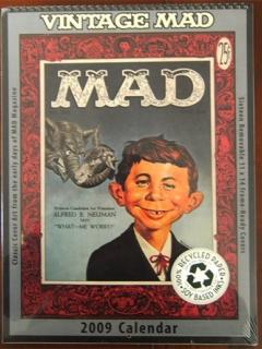 Go to Calendar 2009 MAD Magazine • USA