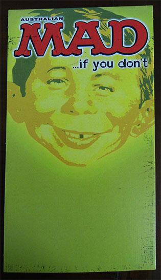 Newsagent MAD Promo Card • Australia