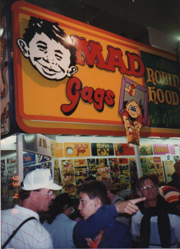 Showbag Stand 1993 MAD Gags • Australia
