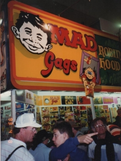 Go to MAD Gags Showbag stand 1993