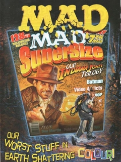 Ad for MAD Magazine 2008 • Australia