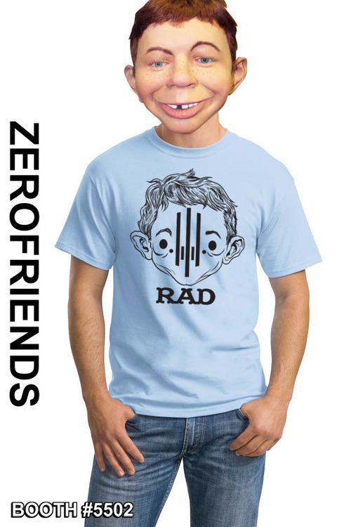 RAD shirt by Zerofriends.com • USA