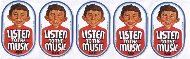 Listen to the Music Sticker • Germany