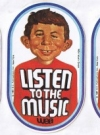 Image of Listen to the Music Sticker