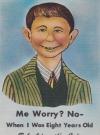 Image of Postcard Bob Adamciks Cafe - Me Worry? No - ...