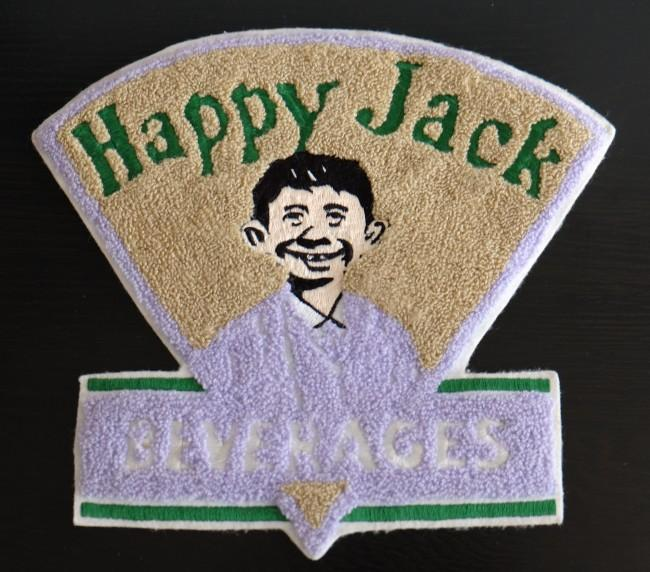Happy Jack Beverages Big Clothing Patch • USA
