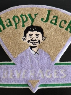 Go to Happy Jack Beverages Big Clothing Patch • USA