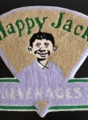 Happy Jack Beverages Big Clothing Patch