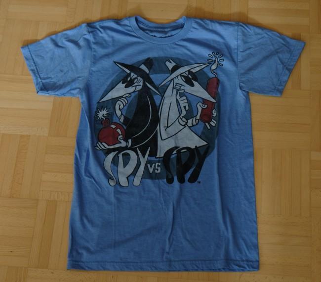 Blue Spy vs. Spy Shirt • USA