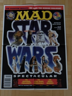 Go to MAD Spoof Star Wars Poster: The Phantom Menace • Australia