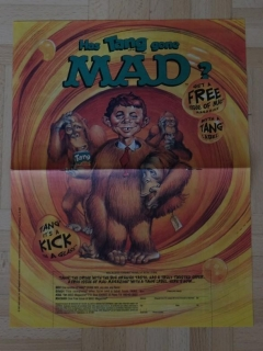 Has Tang goes MAD MAD advertisement poster • USA