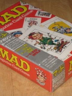 Japanese MAD Card Game 2nd Version
