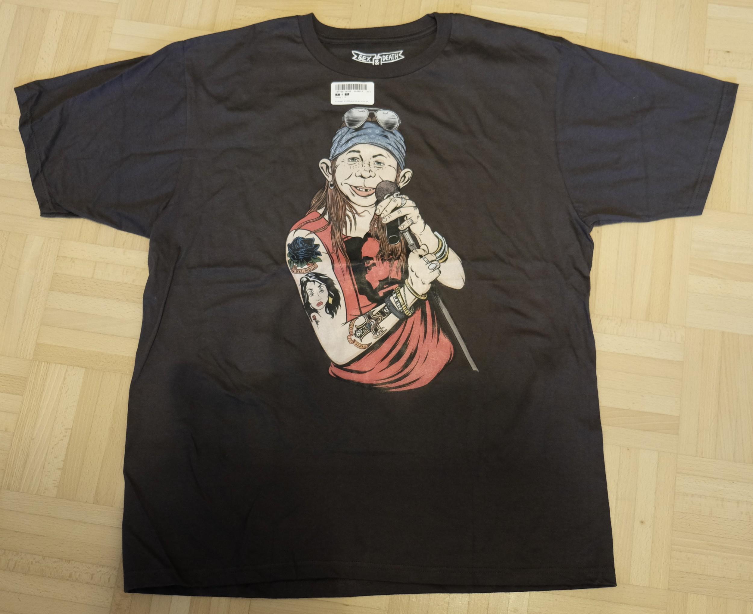 T-Shirt Alfred E. Neuman as Axl Rose • USA