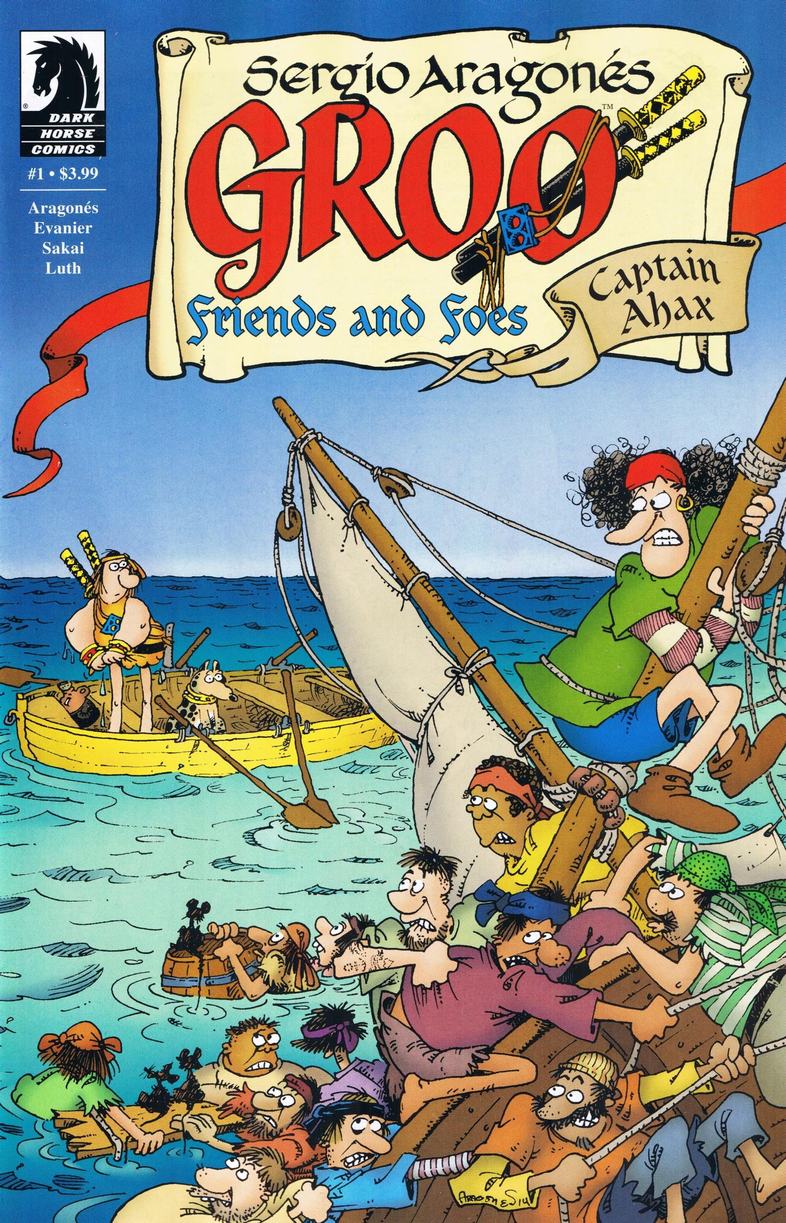 Groo - Friends and Foes #1 • USA