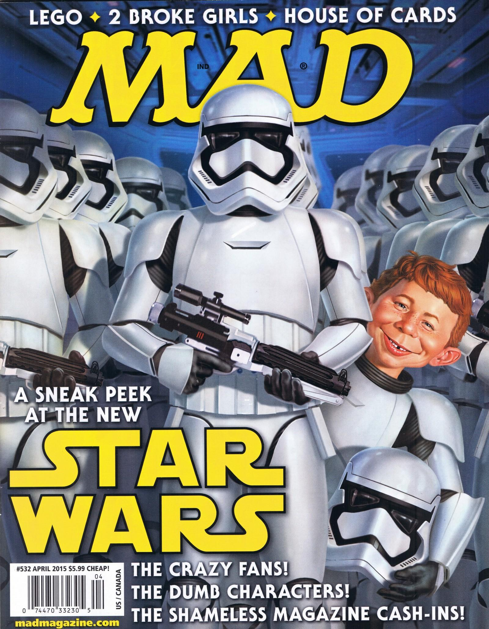 MAD Magazine #532 • USA • 1st Edition - New York