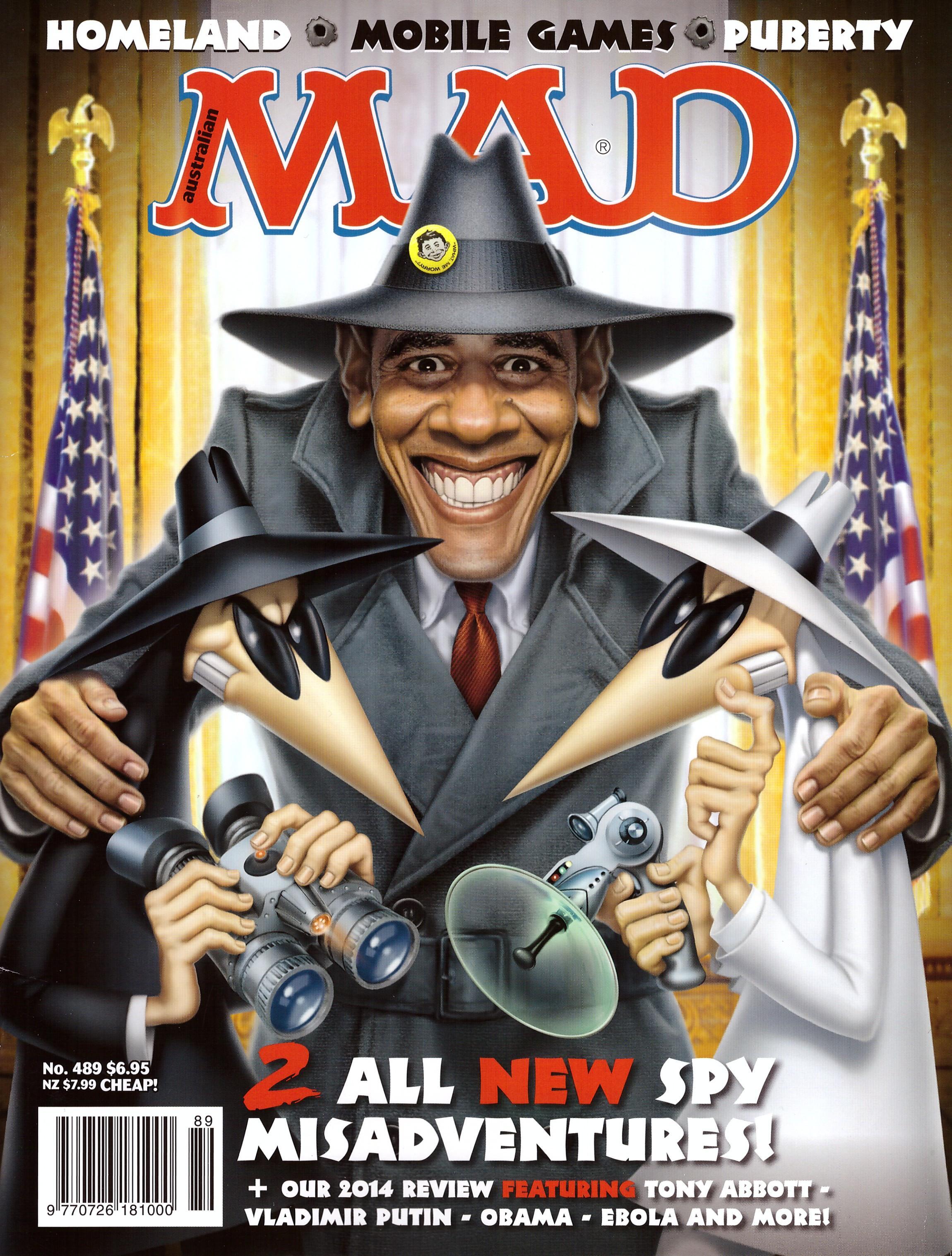 MAD Magazine #489 • Australia