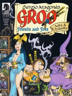 Go to Groo - Friends and Foes #3 • USA