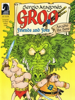 Groo - Friends and Foes #4 • USA