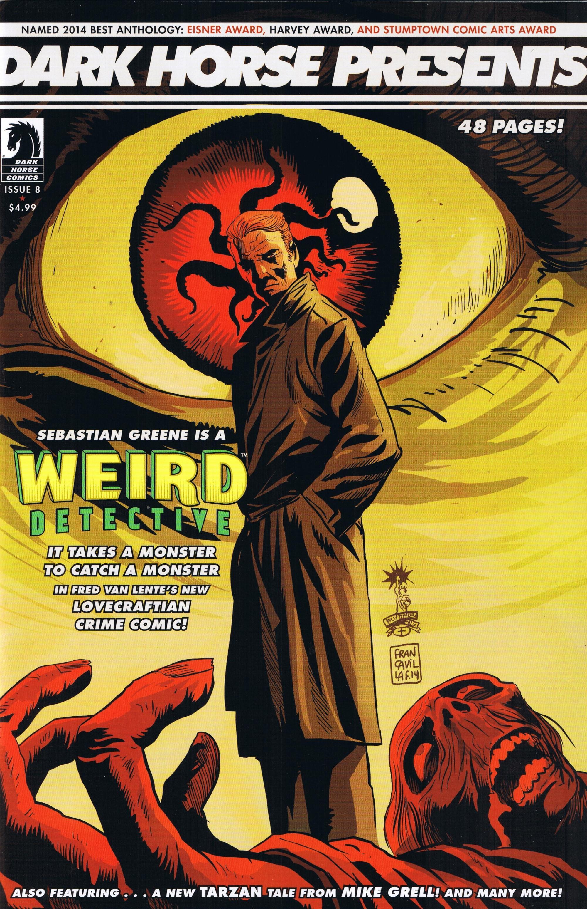 Weird Detective #201 • USA