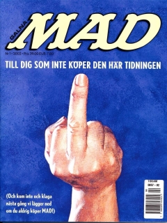 Go to MAD Magazine #1 2002 • Sweden