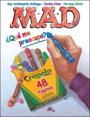 MAD Magazine #64 • Mexico • 4th Edition - Mina
