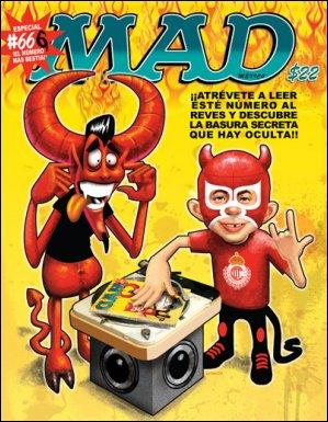 MAD Magazine #66 • Mexico • 4th Edition - Mina