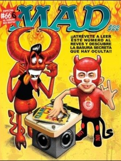Go to MAD Magazine #66 • Mexico • 4th Edition - Mina