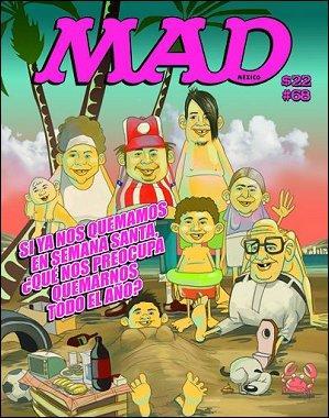 MAD Magazine #68 • Mexico • 4th Edition - Mina