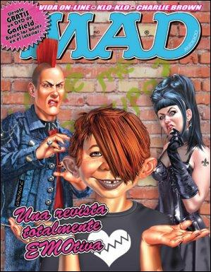 MAD Magazine #69 • Mexico • 4th Edition - Mina