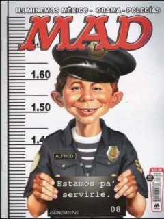 Go to MAD Magazine #82 • Mexico • 4th Edition - Mina