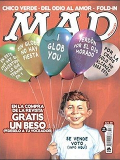 Go to MAD Magazine #89 • Mexico • 4th Edition - Mina