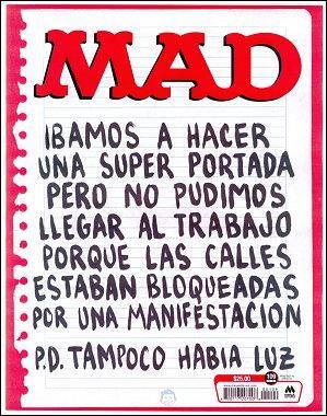 MAD Magazine #109 • Mexico • 4th Edition - Mina