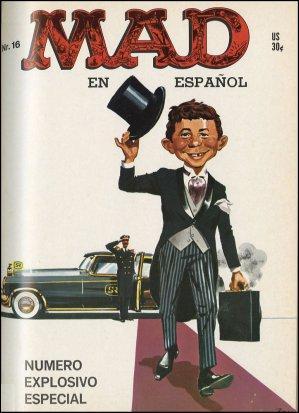 MAD Magazine #16 • Spanish Export