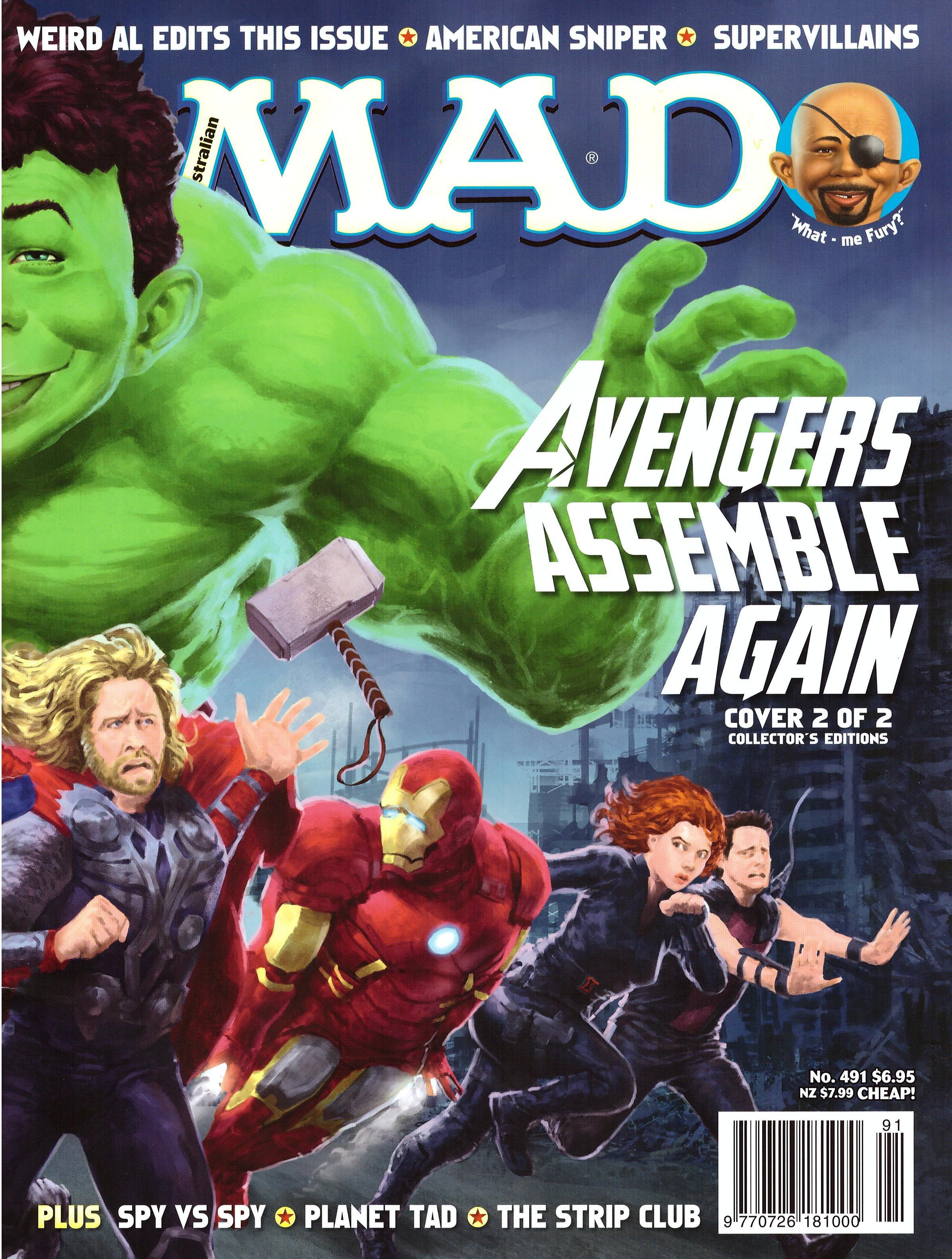MAD Magazine #491 • Australia