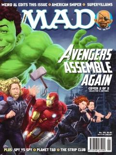 Go to MAD Magazine #491 • Australia