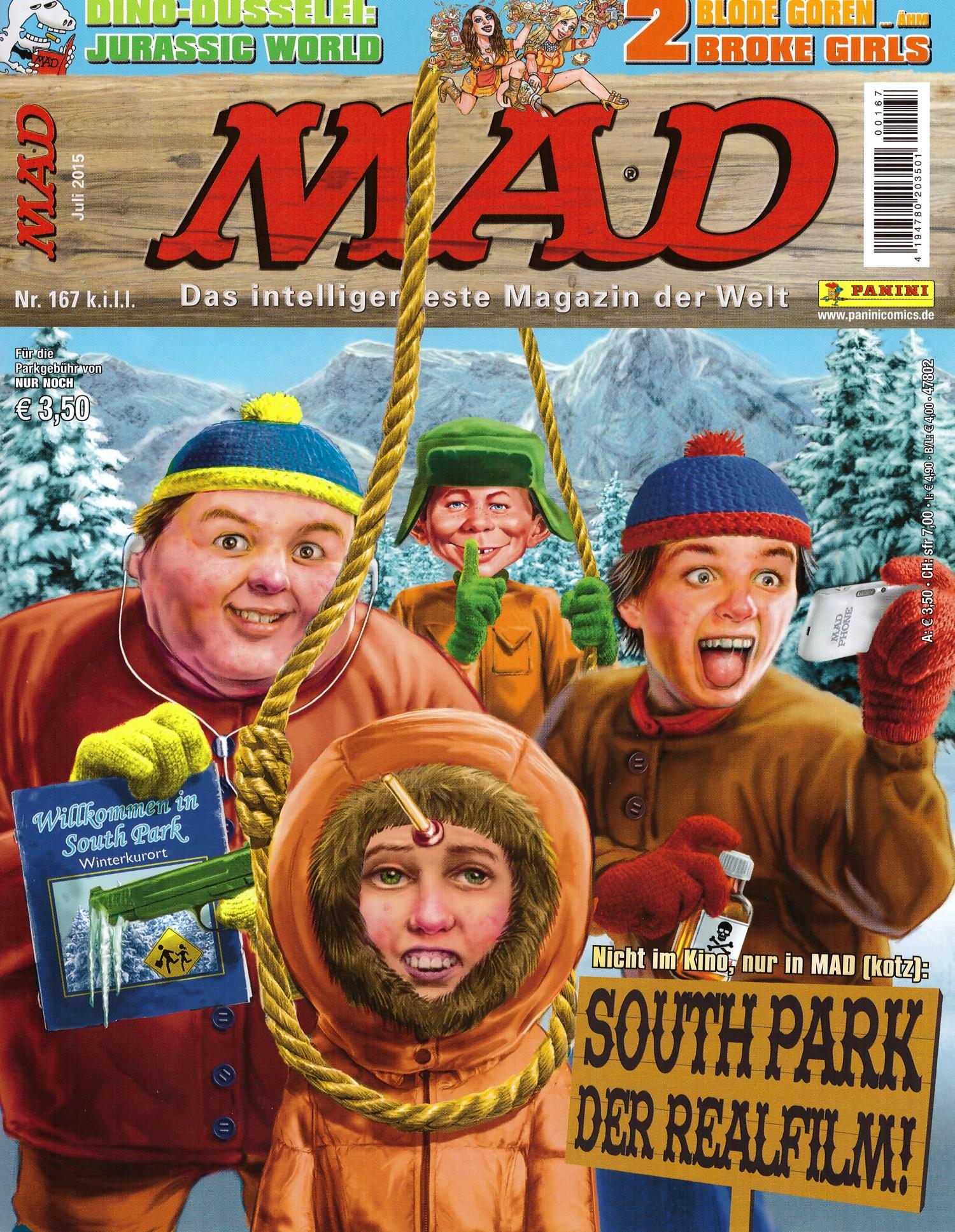 MAD Magazine #167 • Germany • 2nd Edition - Dino/Panini