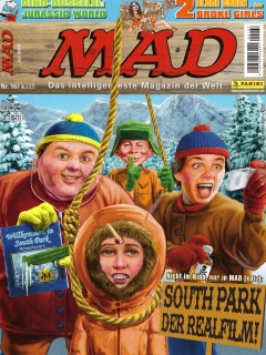 Go to MAD Magazine #167 • Germany • 2nd Edition - Dino/Panini