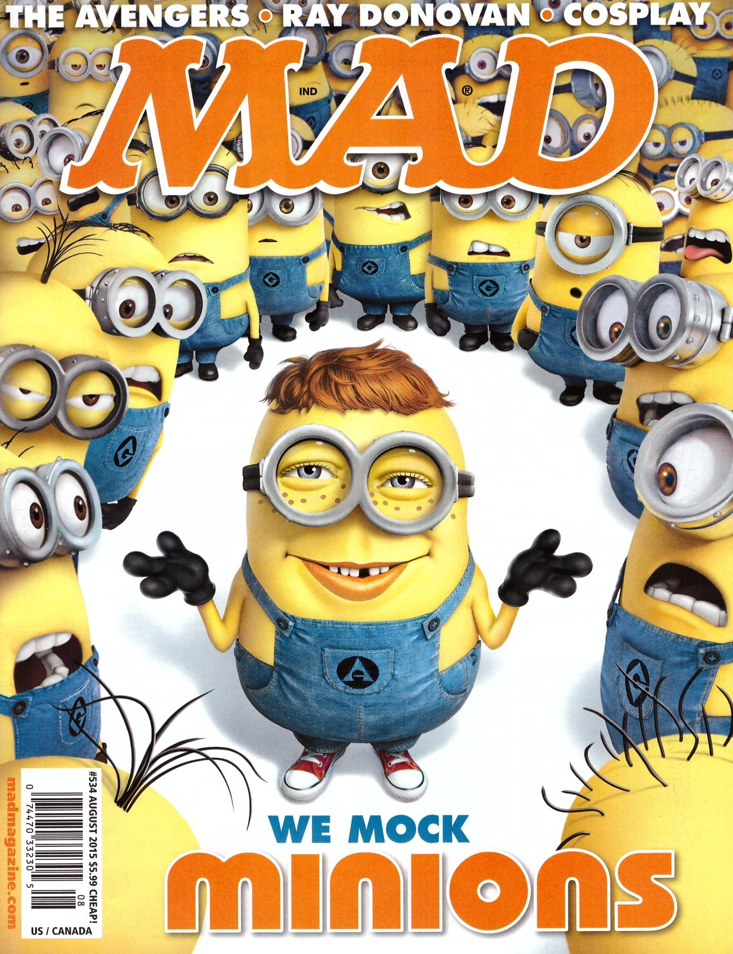 MAD Magazine #534 • USA • 1st Edition - New York