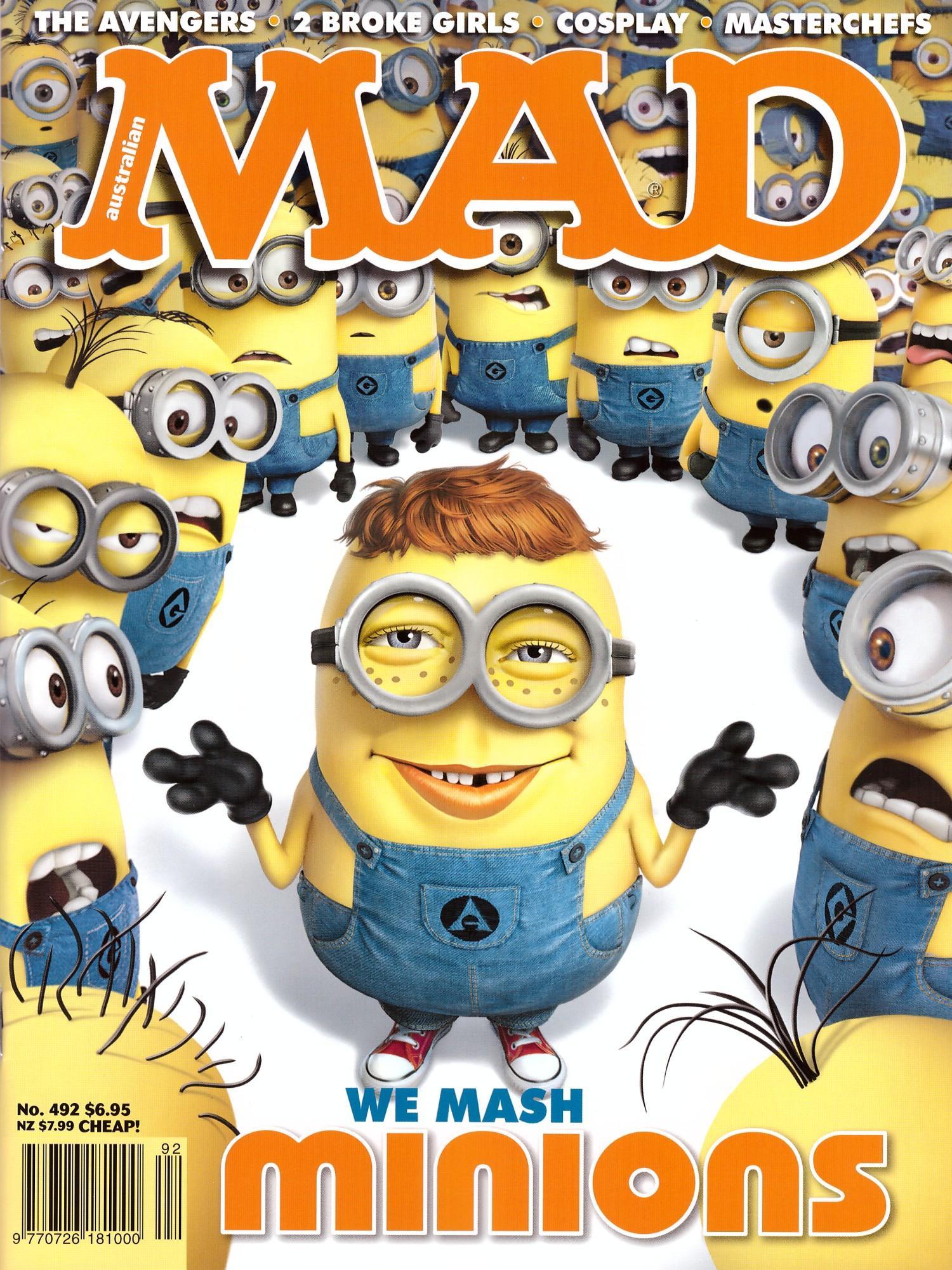 MAD Magazine #492 • Australia