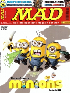 Go to MAD Magazine #168 • Germany • 2nd Edition - Dino/Panini