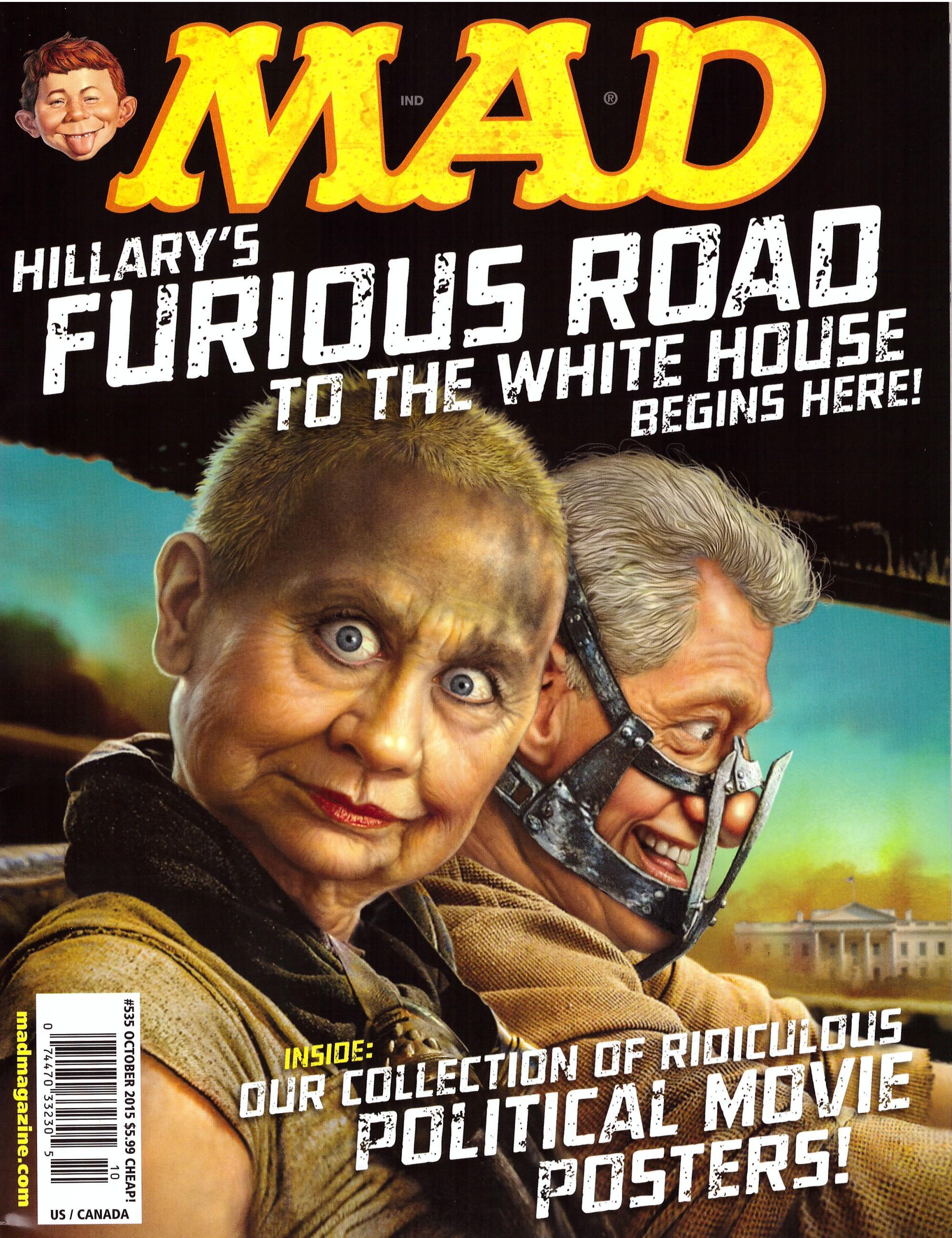 MAD Magazine #535 • USA • 1st Edition - New York